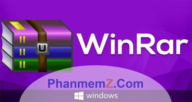 Download WinRAR 5.50 - Nén và giải nén tệp tin mạnh mẽ