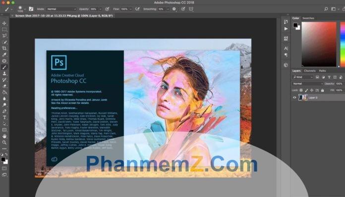 Download Adobe Photoshop CC 2018 Ứng dụng sửa ảnh cực đẹp