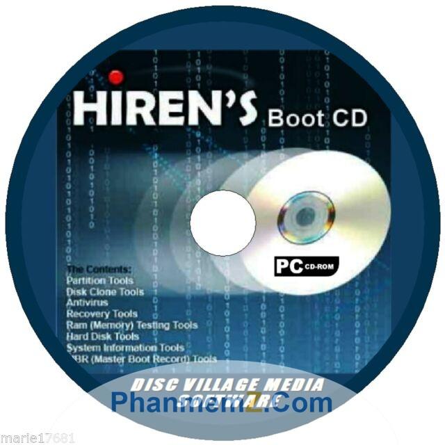 Download Hiren's BootCD - Đĩa cứu hộ đa tính năng mới nhất