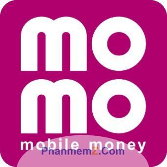 Biểu tượng Momo trên điện thoại