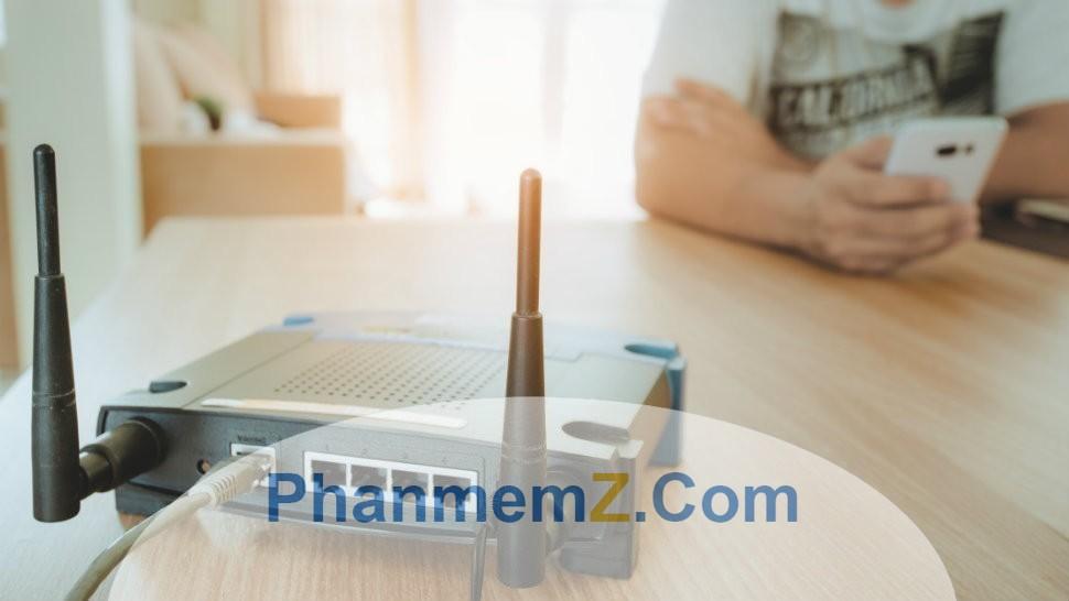 Vị trí Router ảnh hưởng rất nhiều đến việc tăng tốc độ Wifi