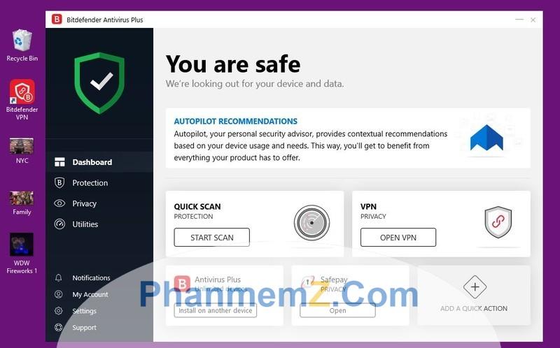 BitDefender plus - Phần mềm diệt virus hữu dụng dành cho bạn