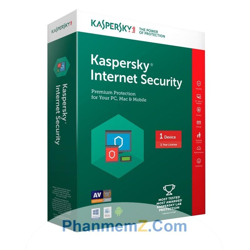 Download Kaspersky Internet Security - Bảo vệ an toàn khi lướt web