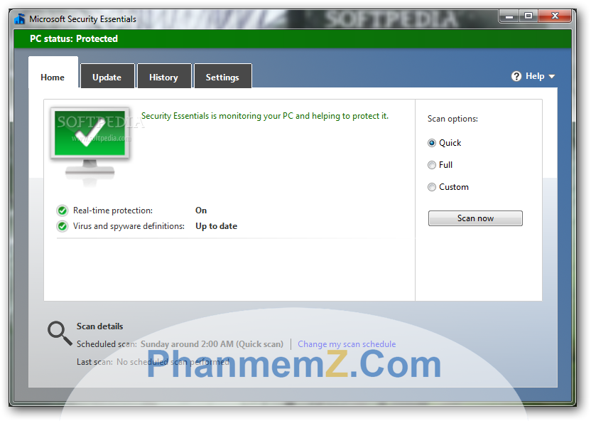 Download Microsoft Security Essentials - Diệt Virus trên máy tính hiệu quả