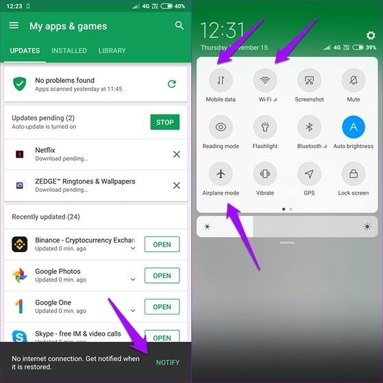 Khắc phục lỗi không tải được phần mềm trên app Store và CH Play