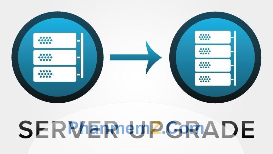 Nâng cấp hosting