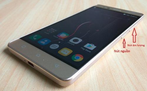 Cách chụp màn hình này được sử dụng cho hầu hết các hãng điện thoại sử dụng hệ điều hành Android
