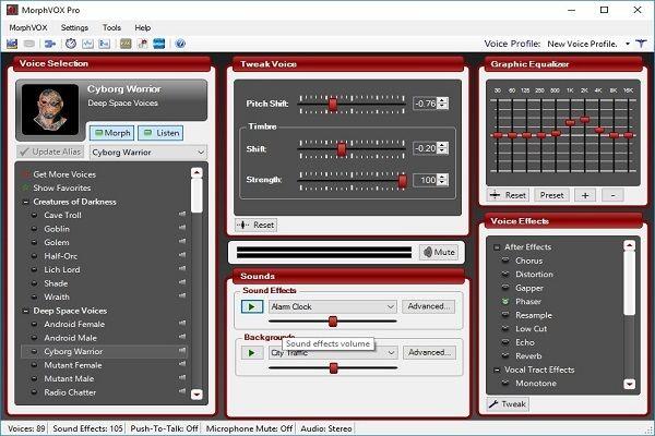 Download phần mềm đổi giọng nói MorphVOX Pro Full