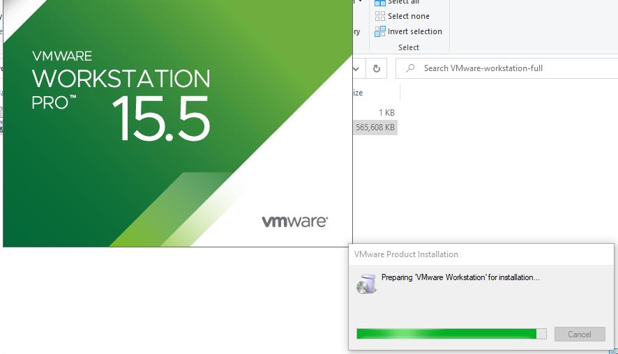 Cài đặt WMWare 15.5